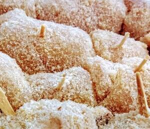 Enroladinhos de frango empanado - 500g