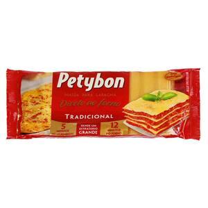 Massa para lasanha petybon tradicional 200 g