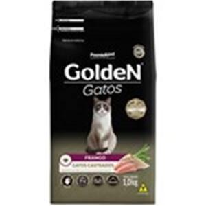 Ração Golden Gatos Adultos Castrados Frango 1kg