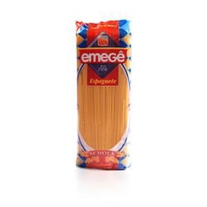 Macarrão Espaguete de Sêmola Emege Embalagem 500g