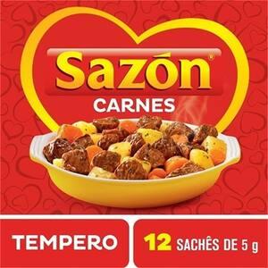 Tempero Sazón Carnes 60g