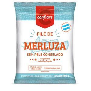 Filé de Merluza Confiare 500g