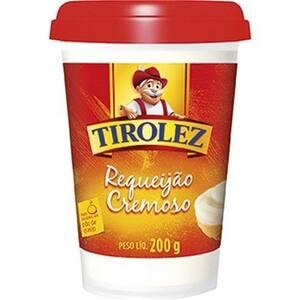 Requeijão Tirolez Cremoso Pote 200g