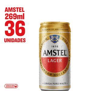 Combo Amstel Lager Lata 269ml