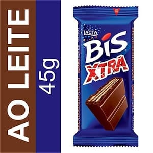 Chocolate Bis xtra ao leite 45g
