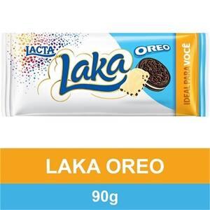 Chocolate Lacta Laka com Oreo 90g