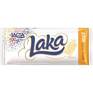 Chocolate Lacta Laka Branco 90G
