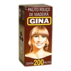 Palito de Dente Gina Caixa 200un