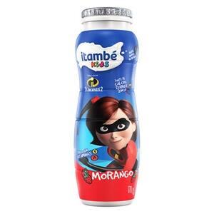 Iogurte Itambé Kids Morango Garrafa 170g