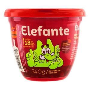 Extrato Tomate Elefante Tradicional Extratos 340g