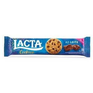 Cookie Lacta Gotas de Chocolate Ao Leite 80g