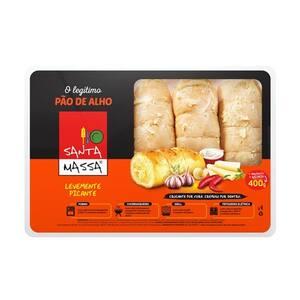 Pão de Alho Santa Massa Picante Pacote 400g