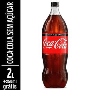 Refrigerante Coca Cola sem Açúcar Pague 2l Leve 2,250