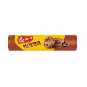 Biscoito Doce Recheado Bauducco Duplo Choco 140g