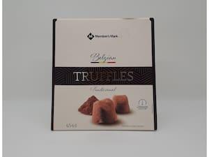 Truflles Belgian  tradicional 454gr