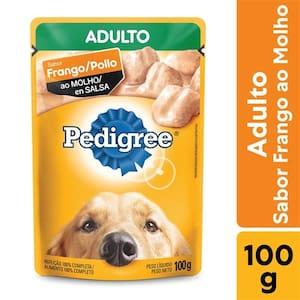 Ração Úmida para Cães Adultos Pedigree Frango 100g