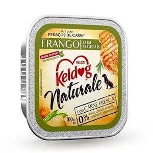 Alimento para Cães Keldog Naturale Frango com Vegetais 100g