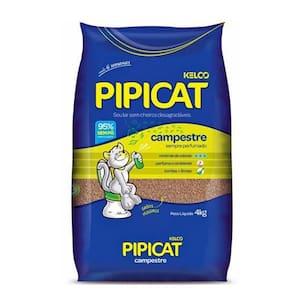 Areia Higiênica para Gatos Kelco Pipicat Campestre Pacote 4kg