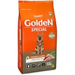 Ração Premier Golden Special Cães Adultos Frango e Carne 15kg