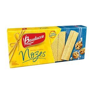 Biscoito Wafer Bauducco Nozes 140G