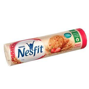 Biscoito Nesfit Integral Morango e Cereais 160g