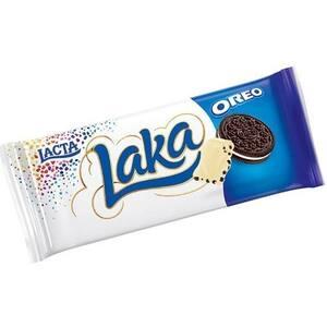 Chocolate Barra Lacta Laka Oreo Embalagem 90g