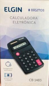 Calculadora de bolso elgin 8 dig mod 1483