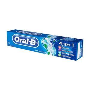 Creme Dental Oral-B 4 em 1 Embalagem 70g
