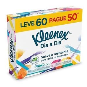 Lenço de Papel Kleenex Classic Pacote 60un