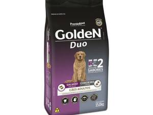 Golden Duo Cães Adultos - Salmão/Cordeiro 15kg (14381)