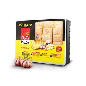 Pão de Alho Santa Massa Tradicional Pacote 400g