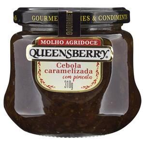 Molho Agridoce Queensberry Cebola Caramelizada Vidro 310g com Pimenta
