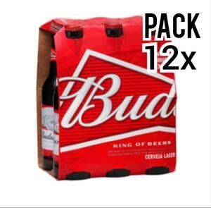 Leve  12 pague 10 Budweiser 330ml