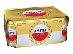 Caixa Amstel Lata 250ml C/12 Unidades