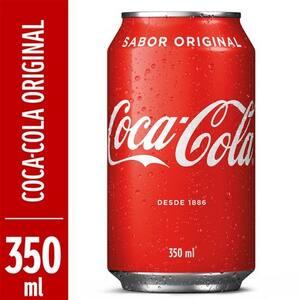 Refrigerante Coca-Cola Original 350ml
