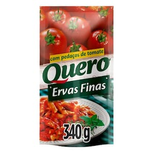 Molho de Tomate Quero Ervas Finas 340G
