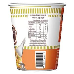 Macarrão Instantâneo Cup Noodles Frango Teriyaki 72g