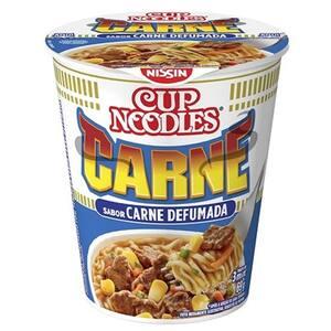 Macarrão Instantâneo Cup Noodles Carne Defumada 69g