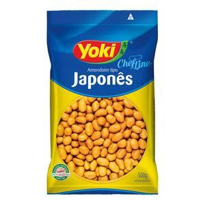 AMENDOIM JAPONES YOKI 500G