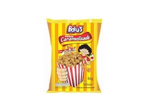 Pipoca Bokus Caramelizada Amendoim 60g