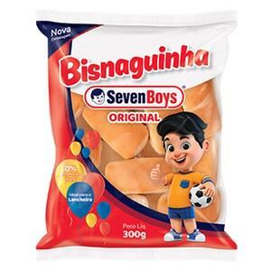 Bisnaguinha Seven Boys Tradicional Pacote 300g