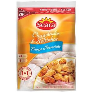 Frango Congelado Seara Passarinho 1kg