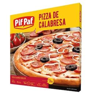 Pizza Pif Paf Calabresa Embalagem 460g