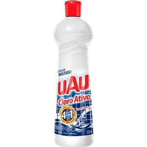 Limpador Uau Multiuso com Cloro Ativo Embalagem 500ml