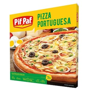 Pizza Pif Paf Portuguesa Embalagem 460g
