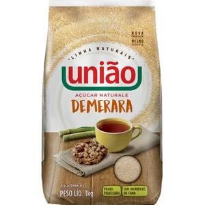 Açúcar Demerara União Naturale Pacote 1kg
