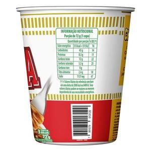 Macarrão Instantâneo Cup Noodles Bolonhesa 72g
