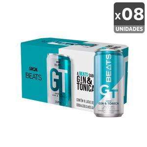 Combo Skol Beats Gin Tônica Gt 269ml