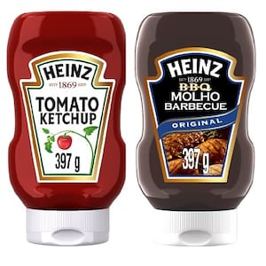 Combo Heinz Ketchup + Barbecue