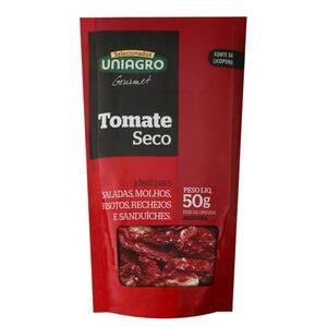 Tomate Seco em Conserva Uniagro Embalagem 50g